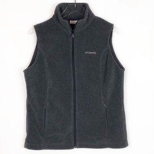 Columbia Large Charcoal Benton Springs Fleece Vest